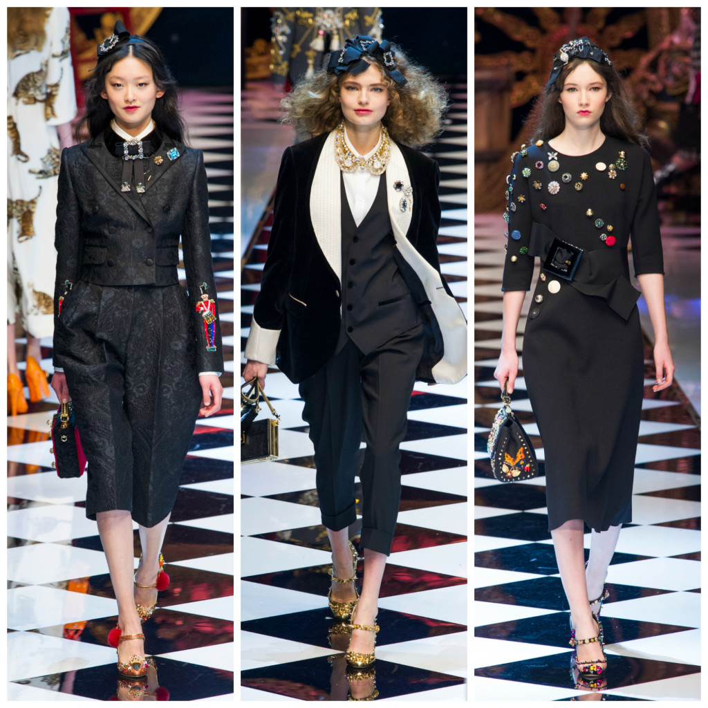 Dolce & Gabbana broches e emblemas