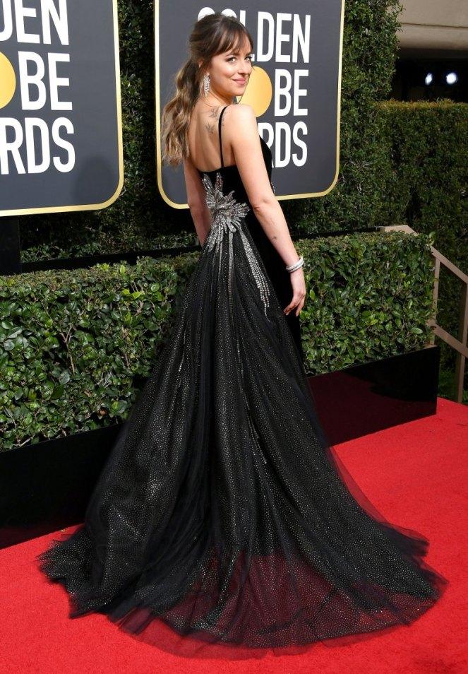Golden Globe 18 Dakota Johnson