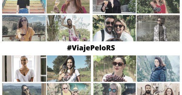 """Começa a circular nas redes sociais de influenciadores de viagem e gastronomia gaúchos a campanha colaborativa """"Quando tudo passar, #ViajePeloRS""""."""