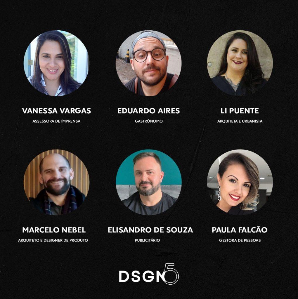 DSGN5 canal fala sobre arquitetura, design, moda. gastronomia e empreendedorismo