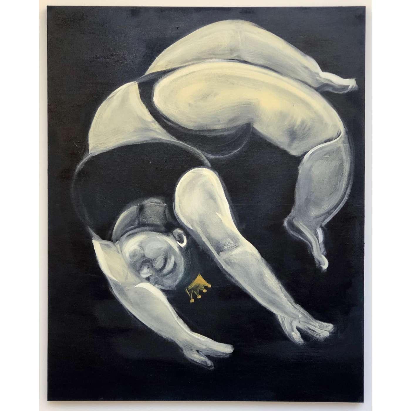 Leilão beneficente de arte contemporânea