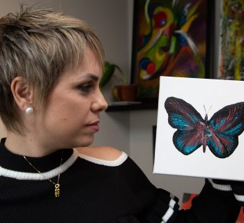 Milena Juliano lança série Borboletas